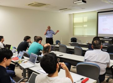 Report of Lecture by WRHI overseas Specially Appointed Professor(Takayasu Lab)