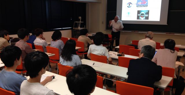 WRHI Seminar was held by Dr. George Fytas, WRHI specially appointed professor