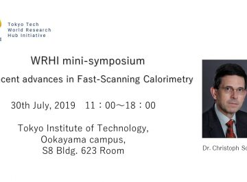 "(Held on 7/30)WRHI mini-symposium  ""Recent advances in Fast-Scanning Calorimetry"""
