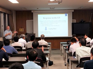 Prof. Ronald G. Ballinger gave a talk in the Colloquium at the Laboratory for Advanced Nuclear Energy