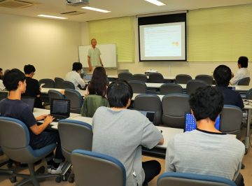 Report of Lecture by WRHI Oversea Spesially Appointed Professor(Takayasu Lab)