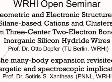 WRHI Open Seminar held on Wednesday, 15 January