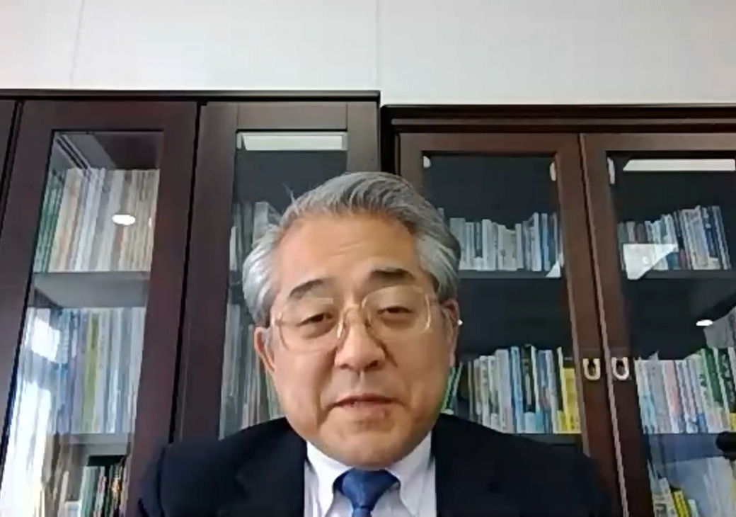 Director-General of the Japanese Government Research Promotion Bureau Tsuyoshi Sugino