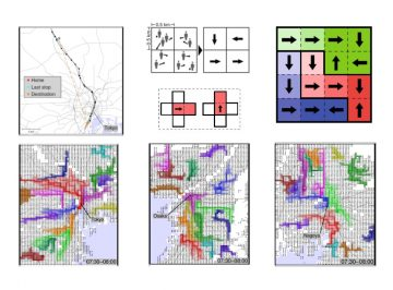 【Published】Universal scaling laws of collective human flow patterns in urban regions