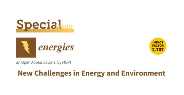 New Challenges in Energy and Environment(Guest Editor)